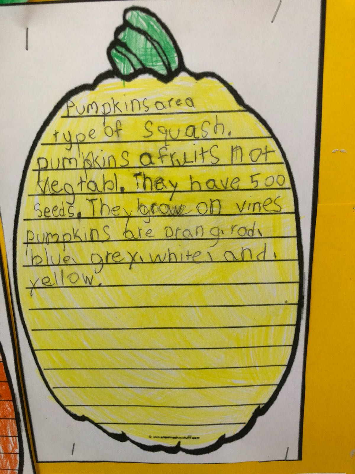 child writing shaws preschool