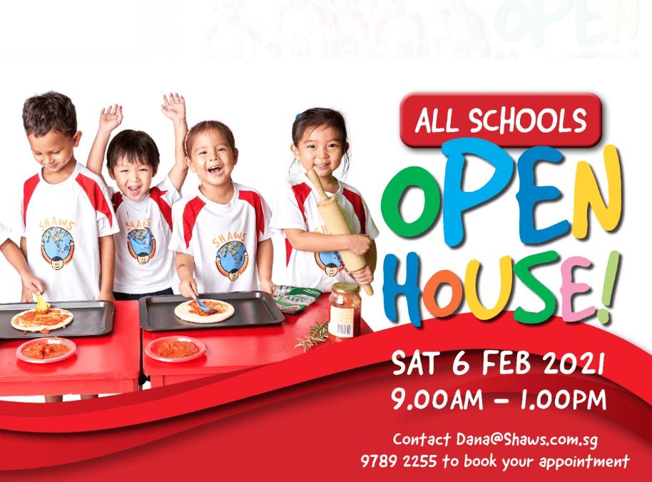 Open House – 6 Feb 2021