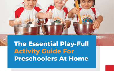 FREE  – Download your 20 Day Activity Guide for your Preschooler